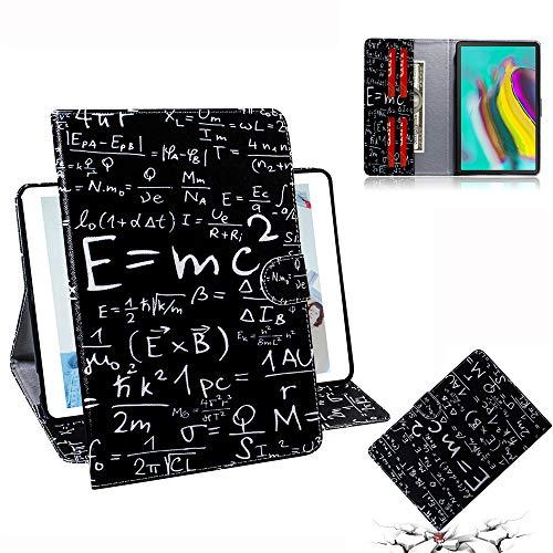 HD 10 Tablet Hülle PU Leder Tasche Schutzhülle Cover Case Wallet Brieftasche Standfunktion mit Kartenfächer Magnetverschluss für Amazon Fire HD 10 Tablet - Formel ()