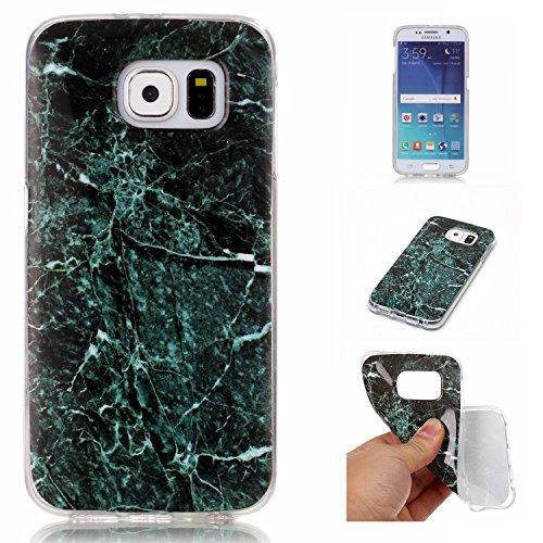 BONROY-Silikon-Handy-hlle-fr-Samsung-Galaxy-S6-G920-2015-Version-TPU-Gummi-Taschen-Weich-Soft-Back-coverTPU-Silikon-Marmorierung-Muster-Serie-Handytasche-Weiche-Zurck-Tasche-Etui-Bumper-Kratzfeste-Sof