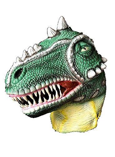 (Saurier Maske Dinosaurier zum Dino Kostüm Karneval Fasching)