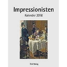 Impressionisten 2018: Kunst-Einsteckkalender