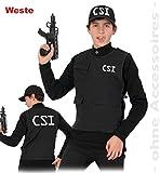 CSI Weste, Kinderweste, Spielweste, Sicherheitsweste, Weste mit Taschen, live Schutzweste, protection (164)