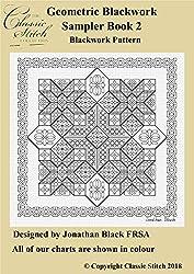 Geometric Blackwork Sampler Book 2 Blackwork Pattern