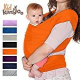 Fular portabebés elástico para transportar a tú bebé ? Pañuelo portabebé de algodón y lycra ? Porta bebé para hombre y mujer en cinco colores