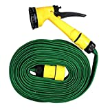 #2: House of Quirk Multifunction Water Spray Garden Hose