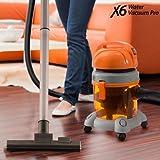 X6 Water Vacuum Pro - Aspiradora sin bolsa con depósito de agua, 1400 W
