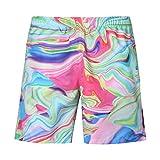 Pantalones Cortos Hombre Baratos,ZARLLE Verano Pantalones Cortos Deportivos De AlgodóN para Hombres Bermuda Sweatpant 3D Casual Graffi Impreso Beach Work PantalóN Corto De Moda ...