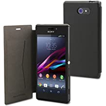 Made For Xperia SESLI0089 - Funda ultra slim folio Made for Xperia para Sony Xperia M2 Negro