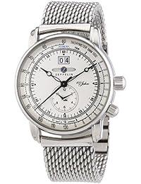 Zeppelin Herren-Armbanduhr XL Analog Quarz Edelstahl 7640M1
