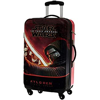 Star Wars The Force Set de Bagages, 67 cm, 86 L, Noir
