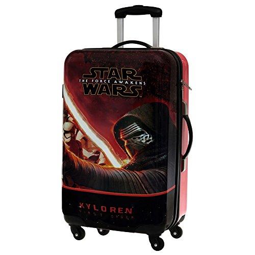 Disney 4641551 Star Wars Trolley, ABS, Nero, 67 cm