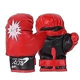 PER Kinder Boxhandschuhe Boxsack Muay Thai Training Handschuhe einstellbar für 3-10years alte Kinder