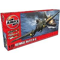 Airfix - Kit de modelismo, avión Heinkel He111-H (Hornby A07007)