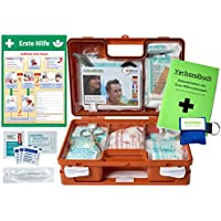 """Erste-Hilfe-Koffer Quick -Paket 2- mit""""Notfallbeatmungshilfe"""" für Betriebe DIN/EN 13157 + DIN 13164 für KFZ -... preisvergleich bei billige-tabletten.eu"""