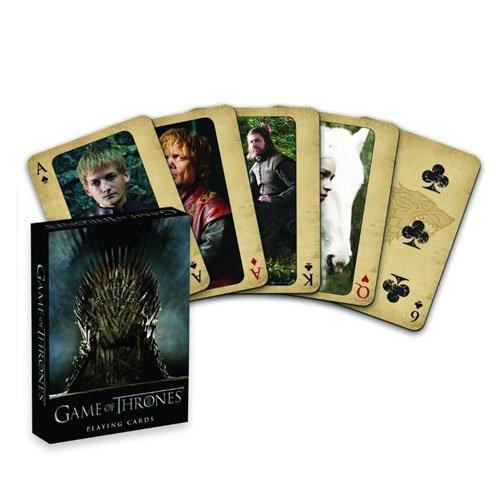Game of Thrones–Offizielle Spielkarten zum Sammeln –Deckmit 52Karten–Erstausgabe (Sci-fi-tv-shows)
