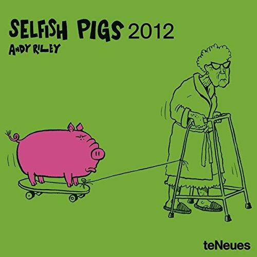 2012 Selfish Pigs Mini Grid Calendar