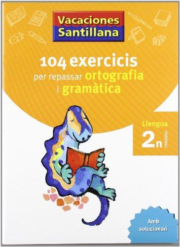 Vacaciónes Santillana, ortografía i gramatica, llengua, 2 Educació Primària - 9788479181536