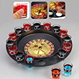 Drinking Roulette Casino Game Set With 2 Balls16 Shot GlassesBirthday Gift for Friends Roulette Game|Happy New Year Drinking Roulette Game