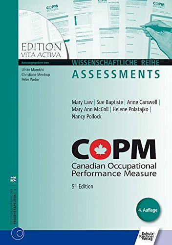 COPM 5th Edition: Canadian Occupational Performance Measure (Edition Vita Activa)