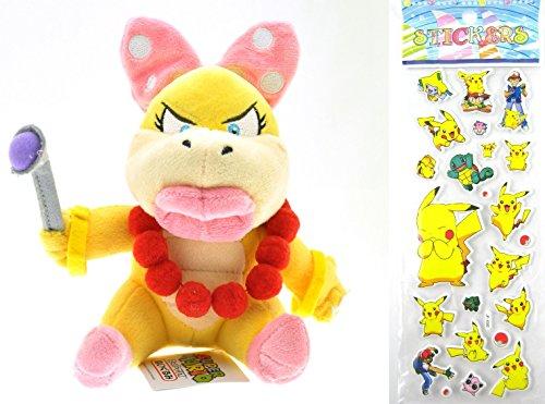 nintendo-super-mario-wendy-o-koopa-plush-toy-doll-around-18cm-7-pokemon-sticker-children-one-size-we
