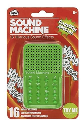 NPW Sound Effect Prank Toy - Green Sound Machine (Effetti Sonori Machines)