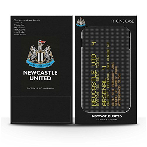 Officiel Newcastle United FC Coque / Matte Robuste Antichoc Etui pour Apple iPhone 6 / Pack 7pcs Design / NUFC Résultat Football Célèbre Collection Pack 7pcs