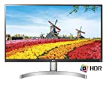 LG 27UK600-W -  (27 Zoll), LED, IPS Panel, 4K-UHD-Auflösung, AMD FreeSync, HDR 10, HDMI, DisplayPort