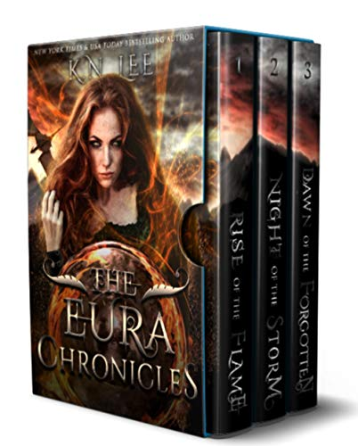 The Eura Chronicles: A Sword and Sorcery Boxed Set: Rise of the Flame, Night of the Storm, and Dawn of the Forgotten (English Edition) (Blade Chronicles Dragon)