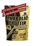 PEAK Anabolic Protein Selection Donut 500g | Premium Molkenprotein mit L-Leucin und Soja-Isolat | BCAA | Glutenfrei | Arotop Qualitätssiegel durch Qualitätskontrollen in Deutschland | Proteinshake für Bodybuilding, Kraftsport und Fitness | Eiweißpulver |