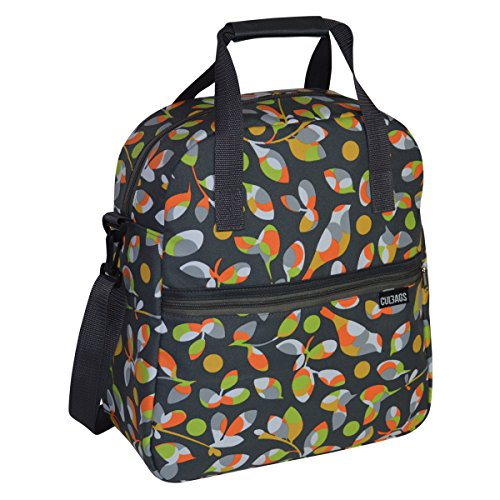 C-BAGS MUST HAVE BIRDS Gepäckträger Fahrradtasche Tasche verschiedene Muster Orange
