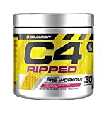 #3: Cellucor Pre-workout Energy Supplement C4 Ripped - 30 Servings (Raspberry Lemonade)