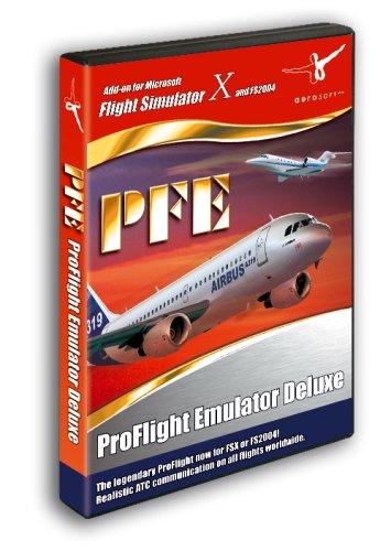 Microsoft Flight Simulator X/2004 - PFE Proflight Emulator Deluxe(Add-On) [UK Import] (Deluxe Flight Simulator)