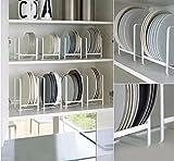#8: NAOE Steel Plate Organizing Rack (Set fo 2)(White)