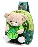Niedlicher Canvas Kinderrucksack Babyrucksack Ranzen Backpack Rucksack Schultertasche für Kleine Kinder Bärchen Püppchen