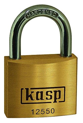 Kasp K12550 Lucchetto in ottone premium, 50mm