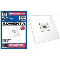 BOLSA ASPIRADOR SINTETICA CARREFOUR-MOULINEX-ORBEGOZO-ROWENTE- 915535 (Bolsa 5 unidades
