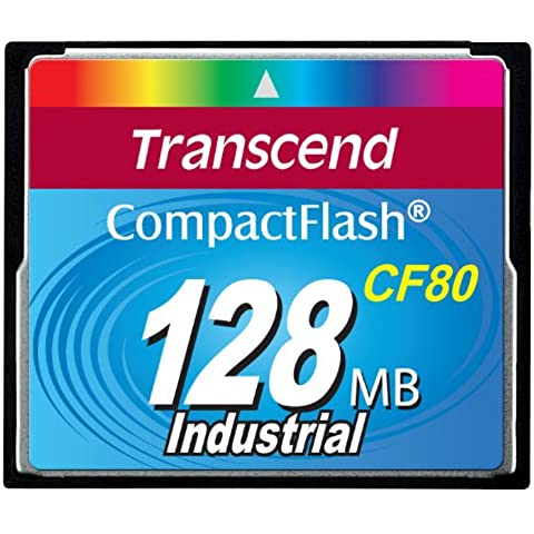 Transcend TS128MCF80 Compact flash 128mb