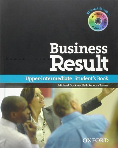 Business Result: Upper-intermediate: Student's Book with DVD-ROM and Online Workbook Pack by NA (2012) Paperback