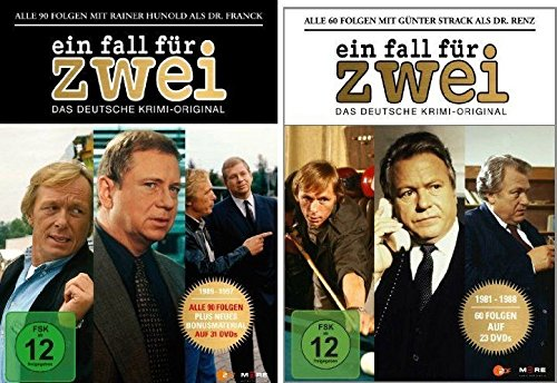 Günter Strack Box & Rainer Hunold Box Set (54 DVDs)