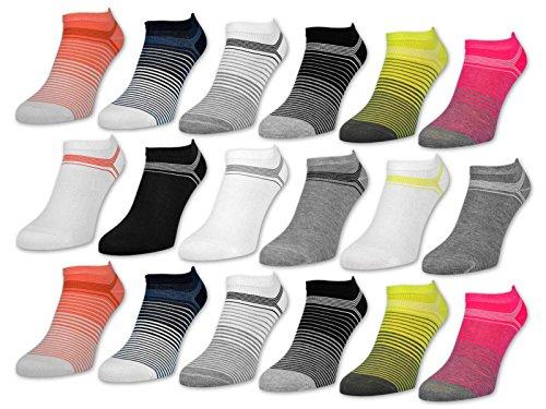 Gute Frauen Für Gute Laune (sockenkauf24 6 oder 12 Paar Damen Sneaker Socken Gute Laune Baumwolle Damensocken ohne Naht - 36349/2 (39-42, 12 Paar | Farbmix))
