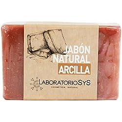 Laboratorio SyS Jabón Natural Arcilla - 6 Paquetes de 100 gr - Total: 600 gr