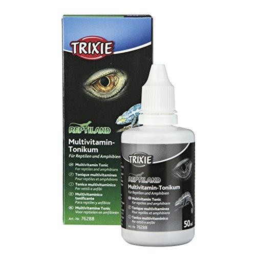 Trixie 76288 Multivitamin-Tonikum für Reptilien und Amphibien, 50 ml