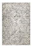 Esprit I Kurzflor Teppich I Elda I ESP-5198-956 I weiß grau taupe I (133 x 200 cm)