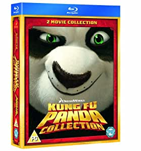 Kung Fu Panda 1 and 2 [Blu-ray] [2011] [Region Free]