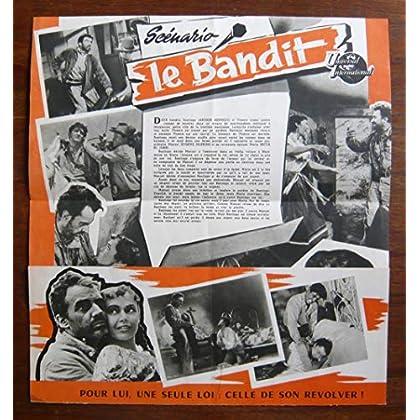 Dossier de presse de Le Bandit (The naked dawn) (1955)– 31x46cm - Film de Edgar George Ulmer avec A Kennedy, B St John – Photos N&B + résumé scénario - Bon état.