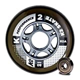 K2 80 MM PERFORMANCE WHEEL 8-PACK /ILQ 7 Inliner-Rollen