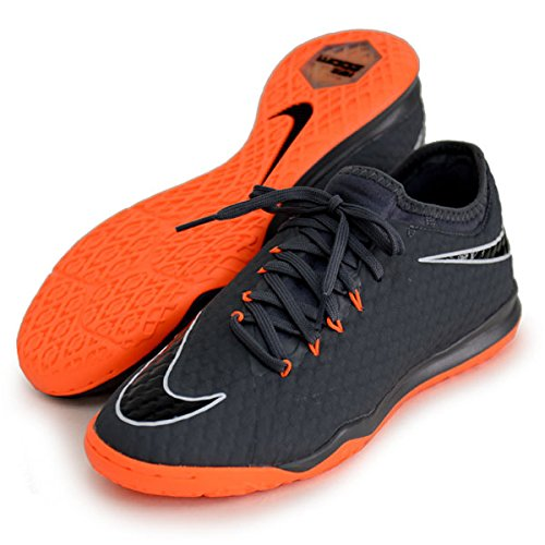 Nike Zoom Phantomx 3 PRO IC, Scarpe da Fitness Uomo, Multicolore (Dark Grey/Total Oran 081), 42.5 EU
