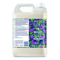 Faith in Nature Natural Lavender & Geranium Body Wash, Nourishing Vegan & Cruelty Free, Parabens and SLS Free, 5 Litre Refill Pack 27