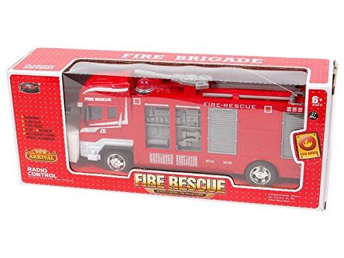 Alsino RC Feuerwehrauto 8258 ferngesteuert Kinder Feuerwehr Truck Feuerwehrwagen Rescue Fire Truck