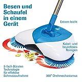 Hurricane SPIN BROOM 2 STÜCK Rotierender 360 Grad Besen Putzen Aufsaugen Schaufel Schmutzauffangbehälter - das Original von Mediashop - 2