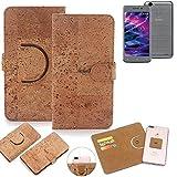 K-S-Trade 360° Cover cork Case for Medion E5008 |